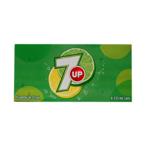7-Up - 8 x 355 mL Cans