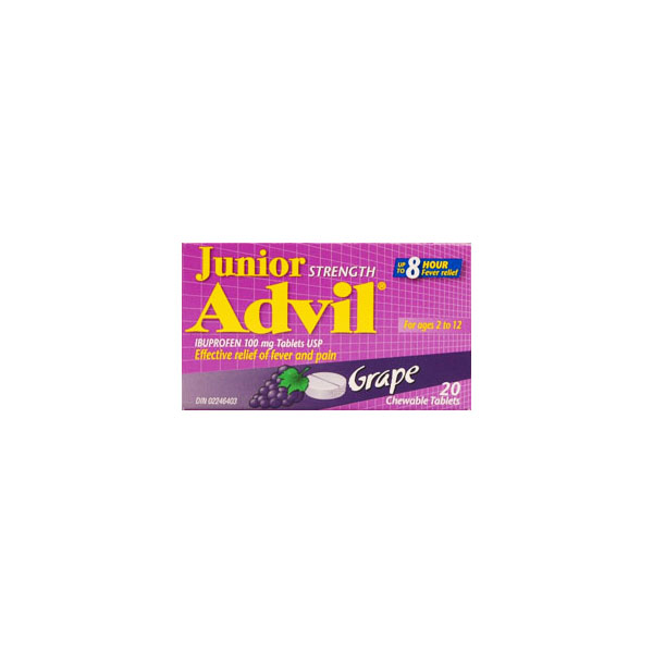 Advil Junior Strength - Grape