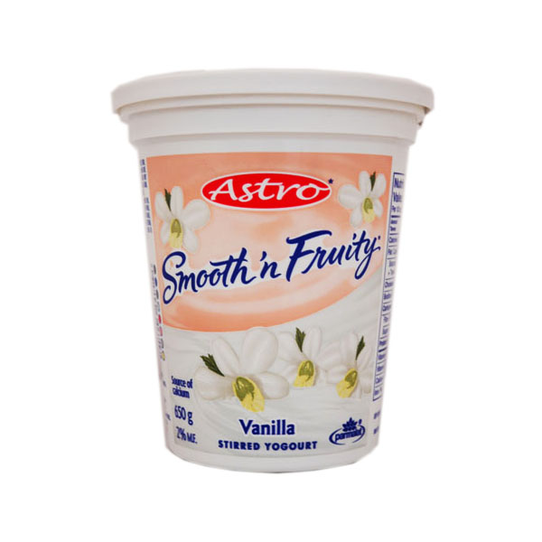 Astro Smooth & Fruity Vanilla Yogurt