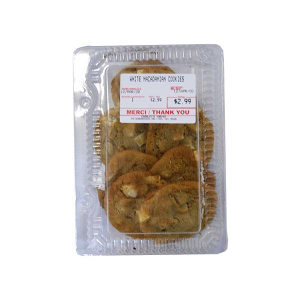 White Macadamia Cookies