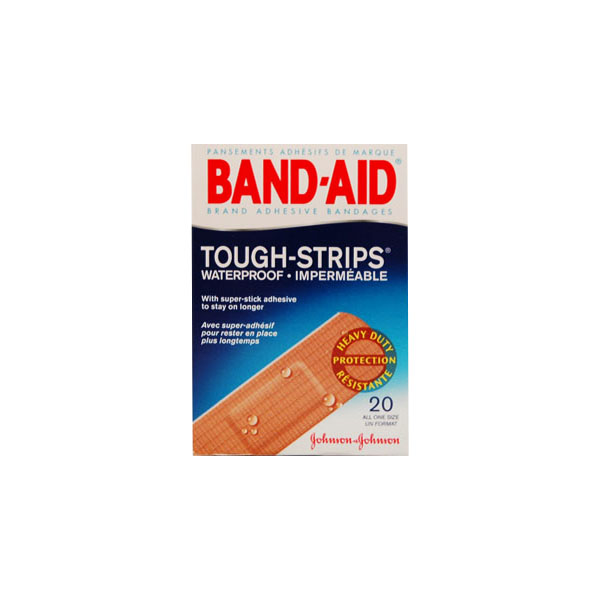 Band Aid Tough Strips - Water Proof