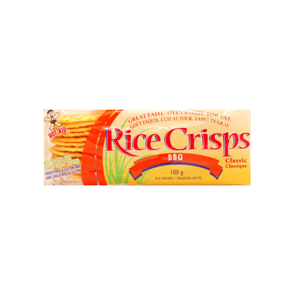 Rice Crisps BBQ Crackers