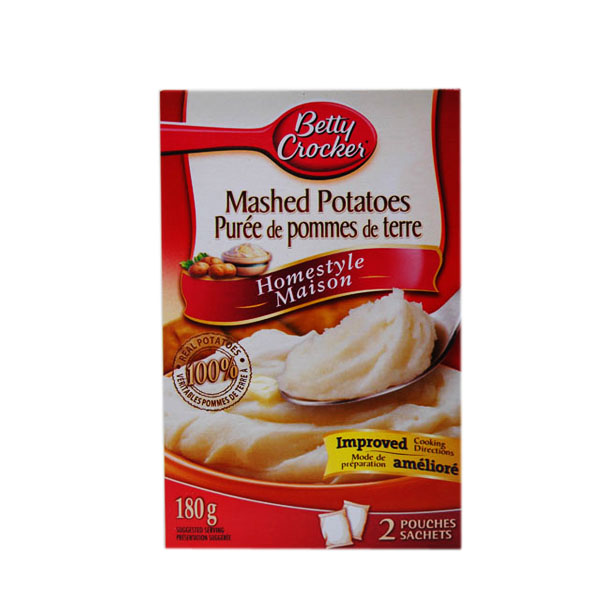 Betty Crocker Garlic Mashed Potatoes