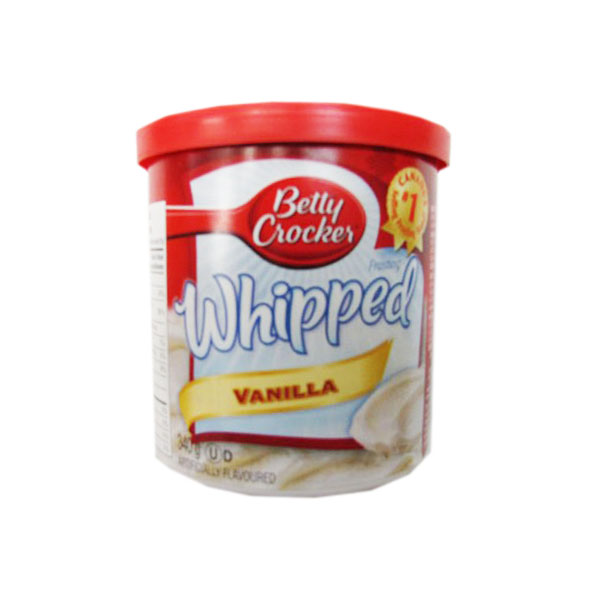 Betty Crocker Whipped Vanilla Icing