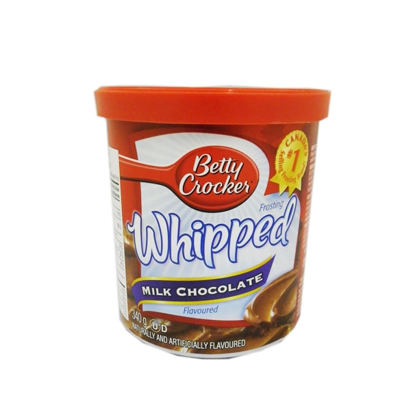 Betty Crocker Whipped Milk Chocolate Icing
