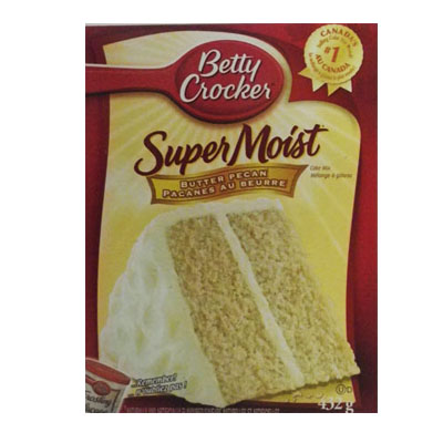Betty Crocker Super Moist Butter Pecan