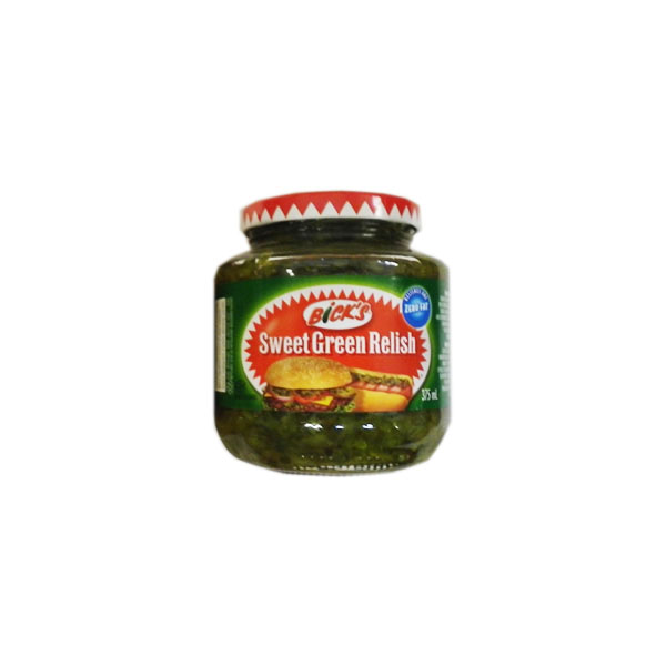 Bicks Sweet Green Relish