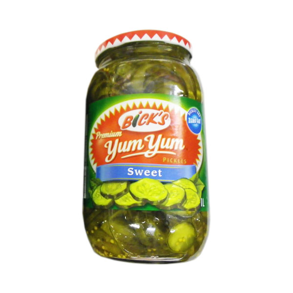 Bicks Yum Yum Sweet Pickles