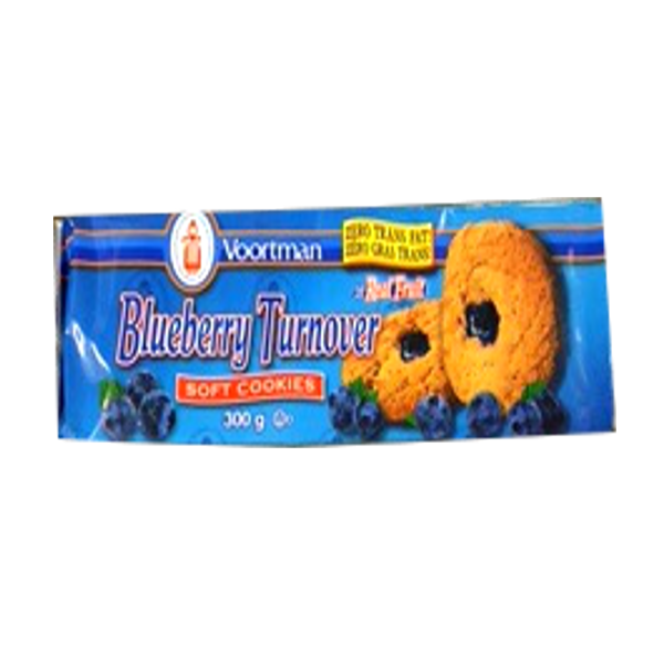 Voortman Soft Blueberry Filled Cookies