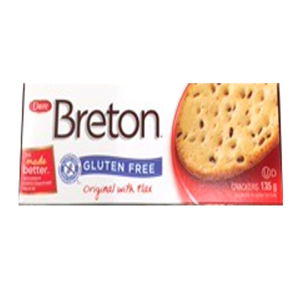 BRETON CRACKERS ORIGINAL GLUTEN FREE