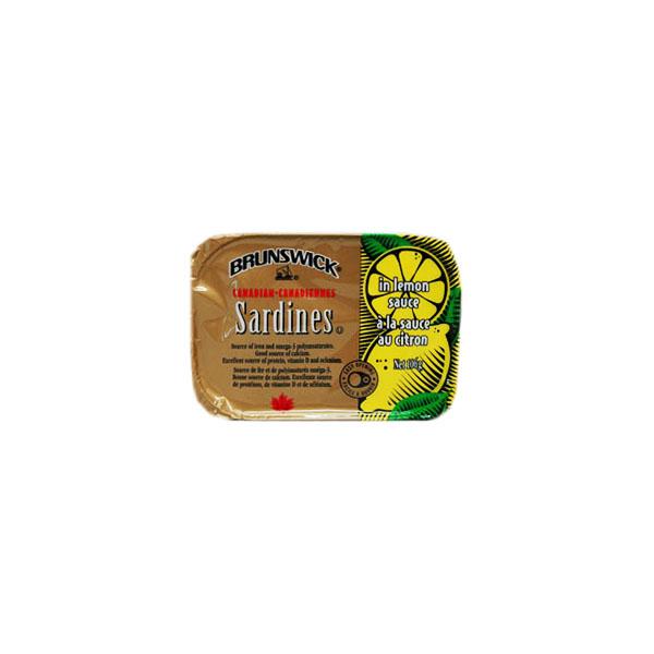 Brunswick Sardines in Lemon