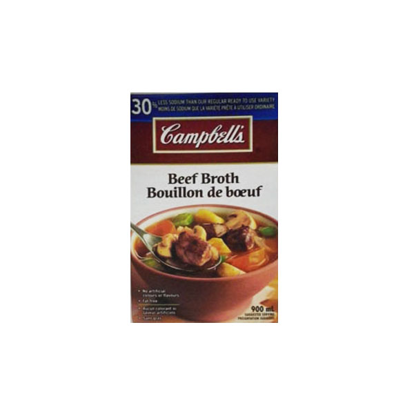 Campbell's Beef Broth - Less Sodium