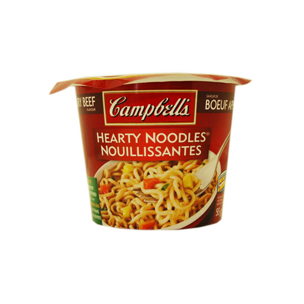 Campbell's Hearty Beef Noodles