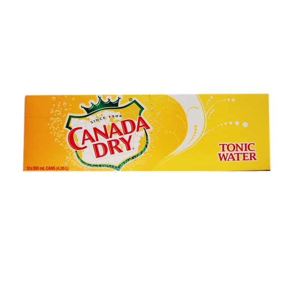 Canada Dry Tonic Water - 12 Pack