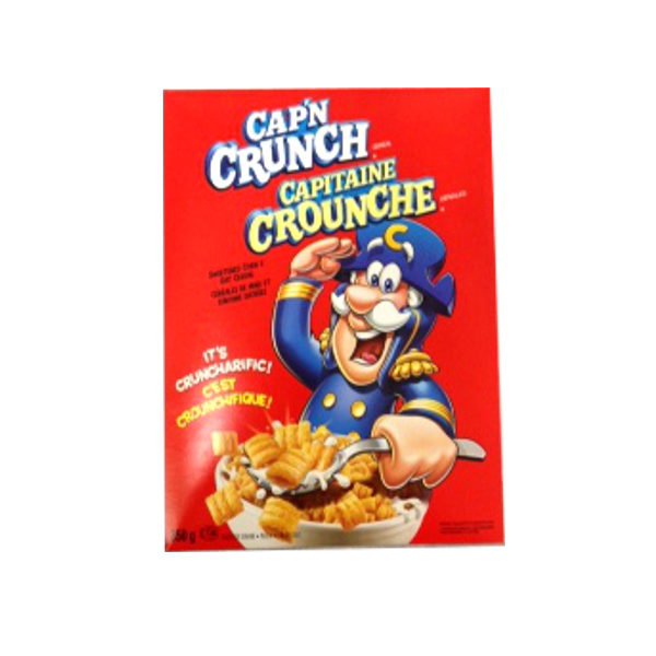 Quaker Capn Crunch Cereal