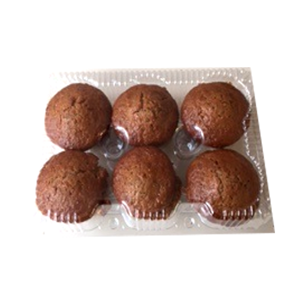 BAKERY CARROT MUFFINS 6 PACK