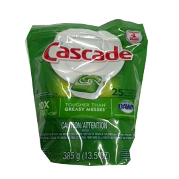 CASCADE DISHWASHER PACS 25 PACS