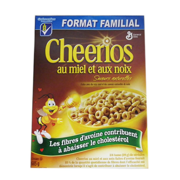 General Mills Honey Nut Cheerios - Family Size