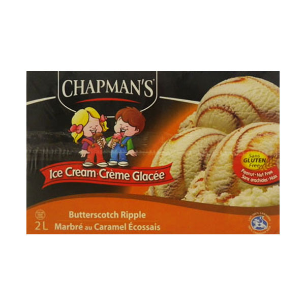 Chapmans Butterscotch Ripple Ice Cream