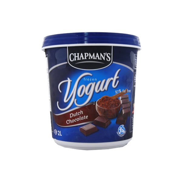 Chapmans Dutch Chocolate Frozen Yogourt