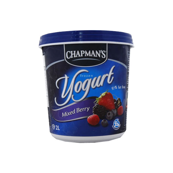 Chapmans Mixed Berry Frozen Yogourt