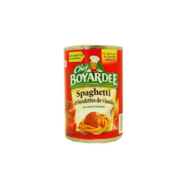 Chef Boyarde Spaghetti and Meatballs