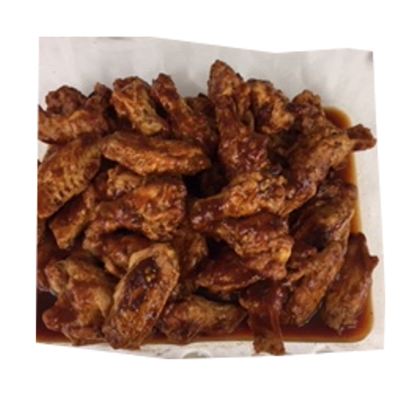 BBQ CHICKEN WINGS PER 100 G