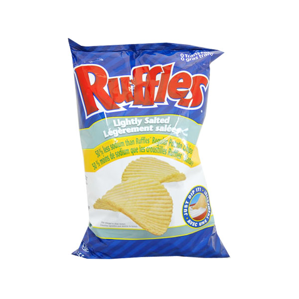 Ruffles Lightly Salted Chips