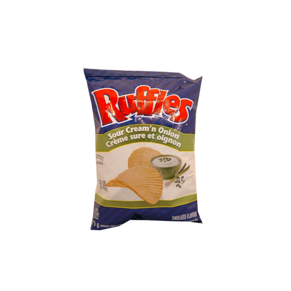Ruffles Sour Cream & Onion - 75g