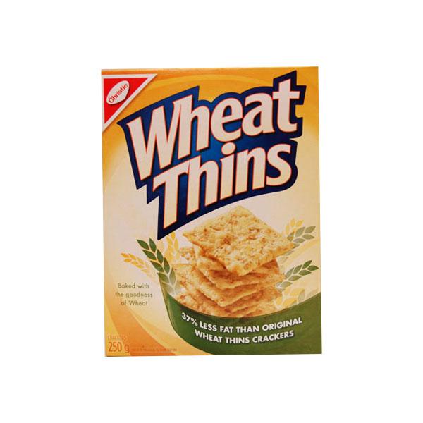 Wheat Thins Less Fat