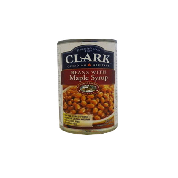 Clark Beans with Maple Syrup