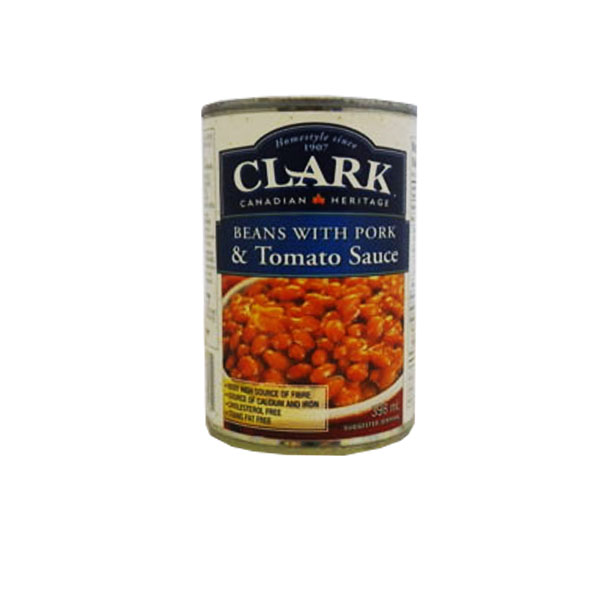 Clark Beans with Pork and Tomato Sauce