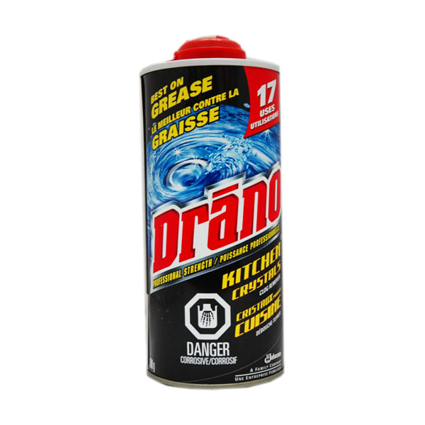 Drano Kitchen Crystals Clog Remover