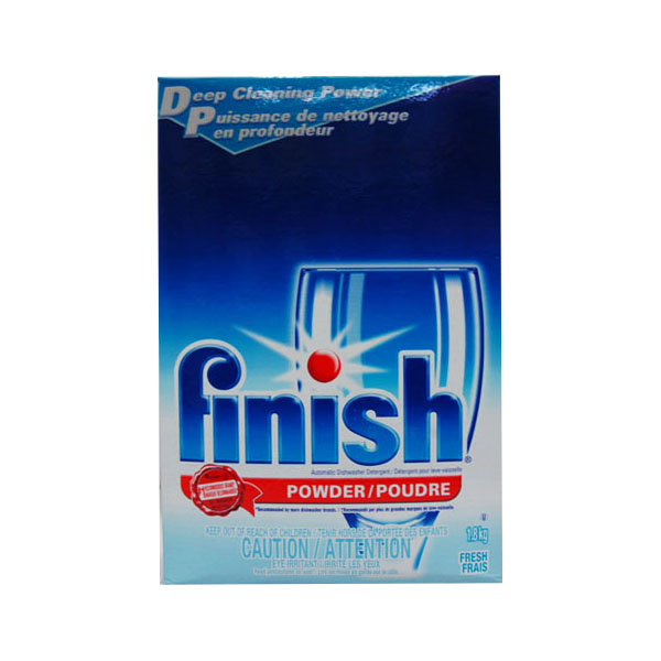 Finish Dishwasher Powder Detergent