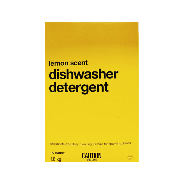 No Name Dishwasher Detergent - Lemon