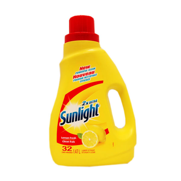 2x Ultra Sunlight Laundry Detergent - Lemon Fresh