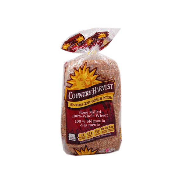 Country Harvest Stonemilled Whole Wheat Bread