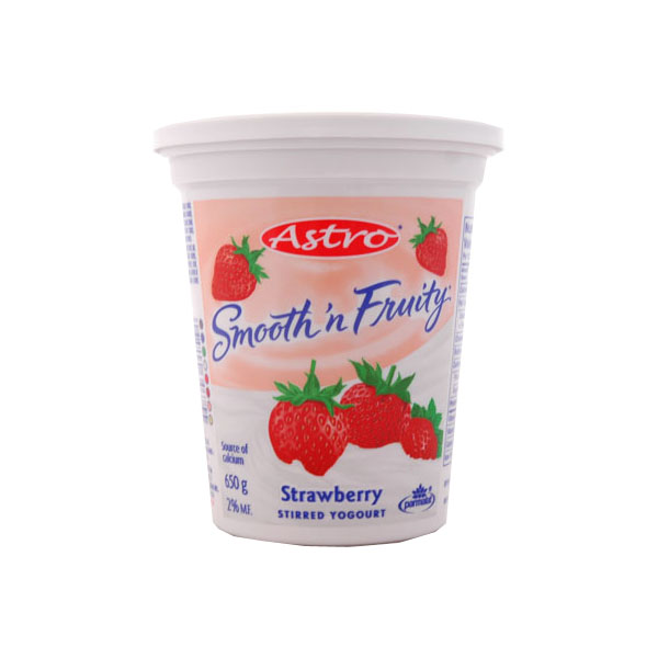Astro Smooth n Fruity Strawberry Yogourt