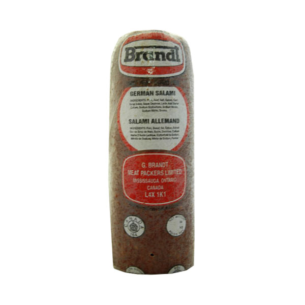 German Salami - Price per 100g