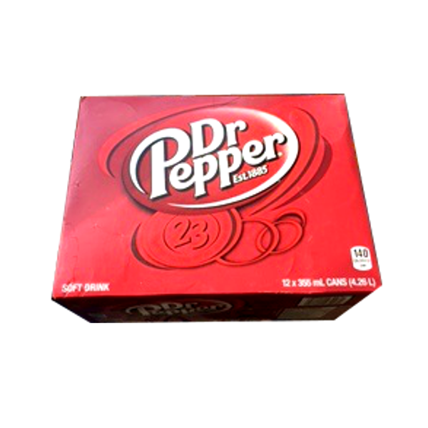 DR PEPPER 12 PACK