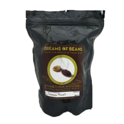 Dreams of Beans French Roast - Ground