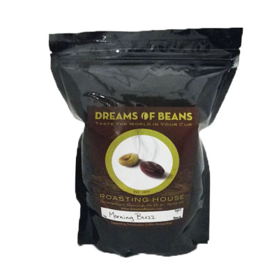 Dreams of Beans Morning Buzz-Ground