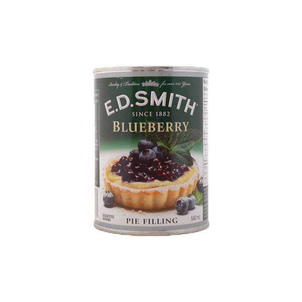 ED Smith Blueberry Pie Filling