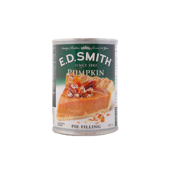 ED Smith Pumpkin Pie Filling