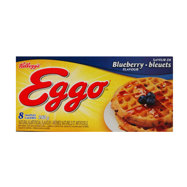Kellogg's Eggo - Blueberry