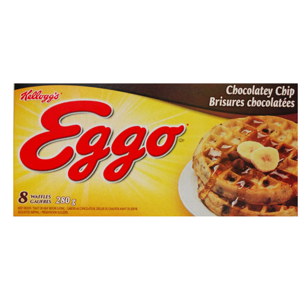 Kellogg's Eggo - Chocolate Chip