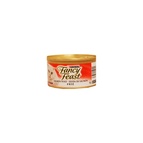 Fancy Feast Gourmet Cat Food - Salmon Feast Pate