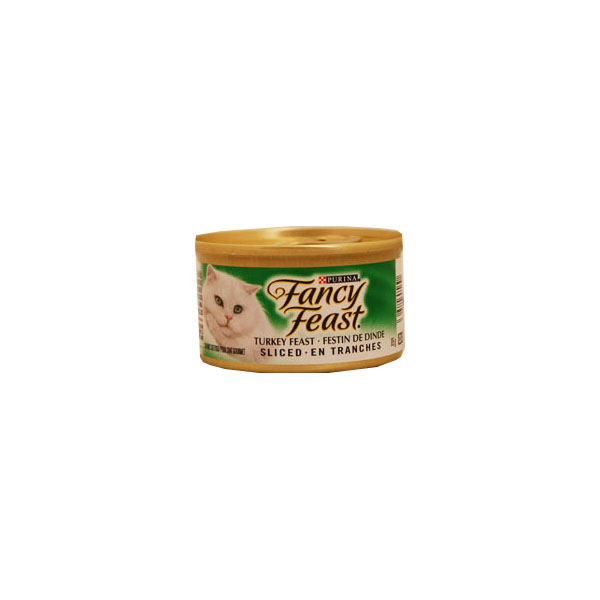 Fancy Feast Gourmet Cat Food - Turkey Feast Sliced