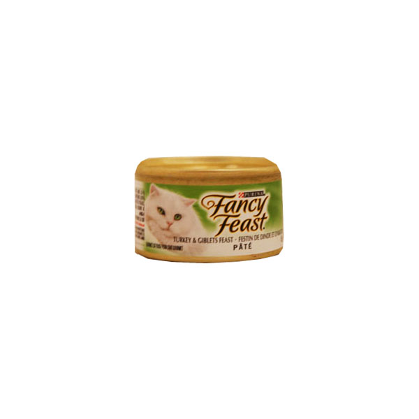Fancy Feast Gourmet Cat Food - Turkey Giblet