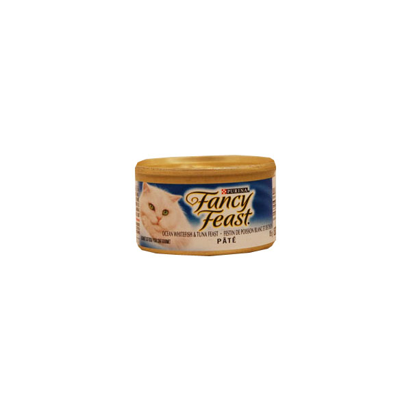 Fancy Feast Gourmet Cat Food - Ocean Whitefish & Tuna Pate